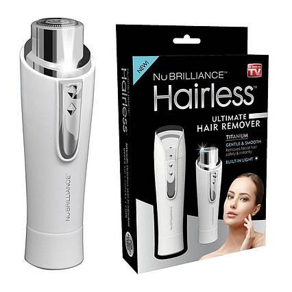 Эпилятор для лица NuBrilliance Hairless | триммер женский, фото 2