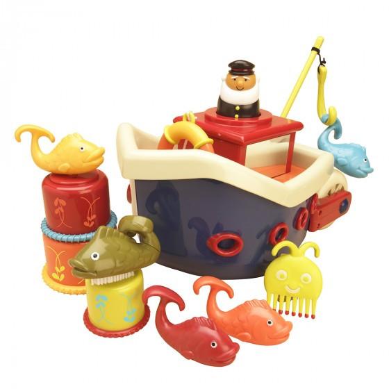 """Battat - Игровой набор """"Ловись, рыбка"""" (для игры в ванной)"""