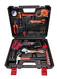 Шуруповерт аккумуляторный с набором инструментов NORDEX CDS 1500/12Li, фото 2