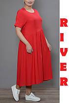 Женское платье большого размера  сводного кроя с 48 по 98, фото 2