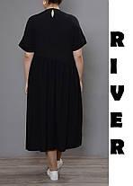 Женское платье большого размера  сводного кроя с 48 по 98, фото 3