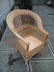 Кресло из лозы Капля