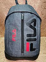Рюкзак fila мессенджер с кожаным дном спортивный городской стильный ОПТ