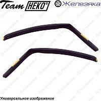Ветровики Hyundai Accent 3d 2000-2006 (HEKO), фото 1