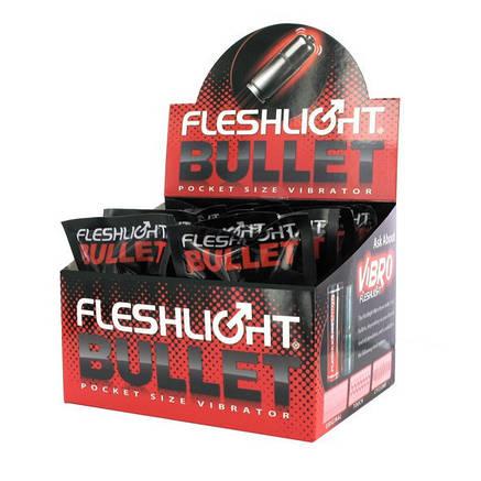 Вибропатрон для установки в мастурбаторы Fleshlight Bullet, фото 2