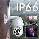 Поворотная погодозащитная IP WiFi камера Sdeter IPC-V380-Q10 1080P Onvif. v380, фото 3