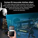 Поворотная погодозащитная IP WiFi камера Sdeter IPC-V380-Q10 1080P Onvif. v380, фото 6