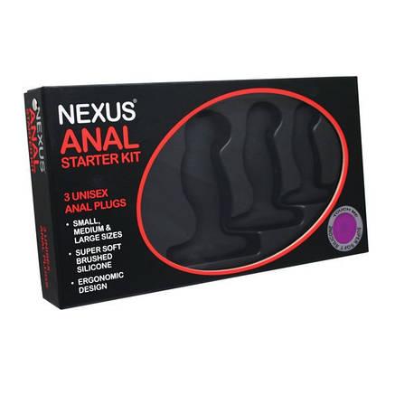 Набор массажеров простаты Nexus Anal Starter Kit, фото 2