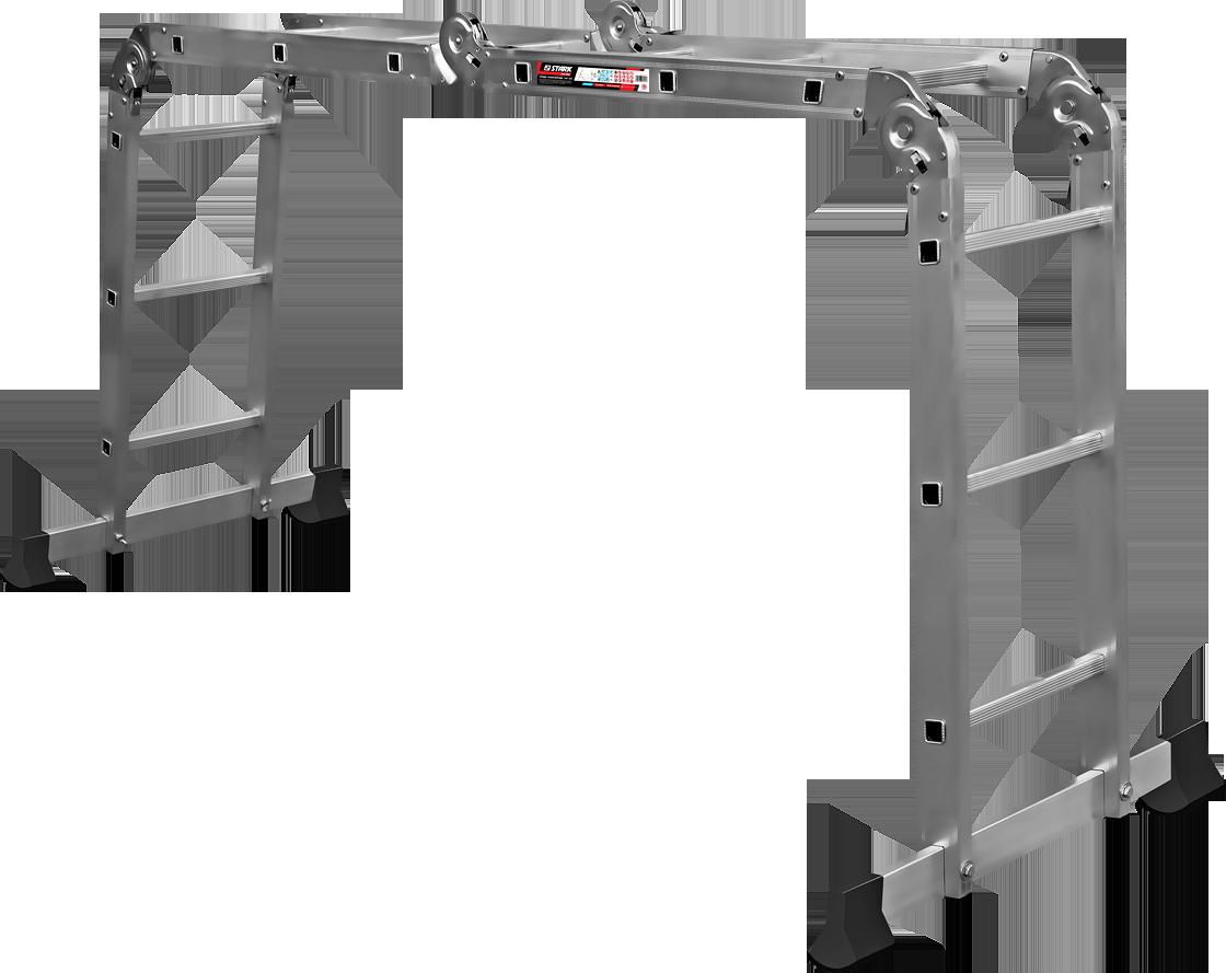 Шарнирная лестница трансформер Stark SAT 4x3 (525430101)