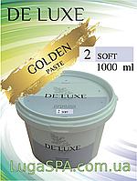Цукрова паста de Luxe (Soft GOLD), 1000 гр.
