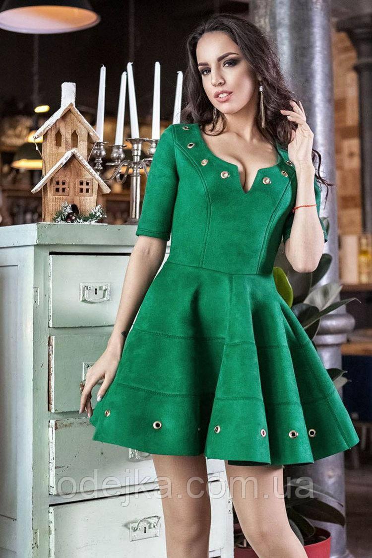 Платье Марлен (5цв), платье до колена, беби долл платье, дропшиппинг поставщик