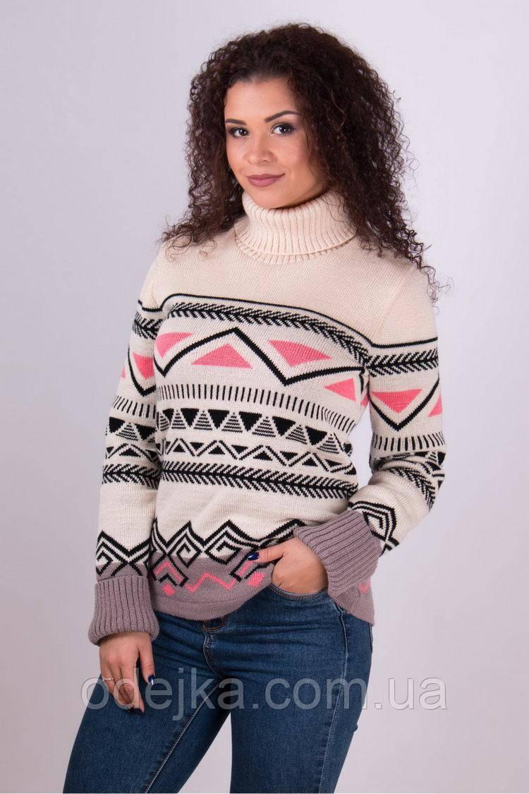 Свитер женский Слойка беж (3 цвета), женский свитер недорого