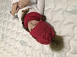 Шапка и снуд. Ручная вязка., фото 7