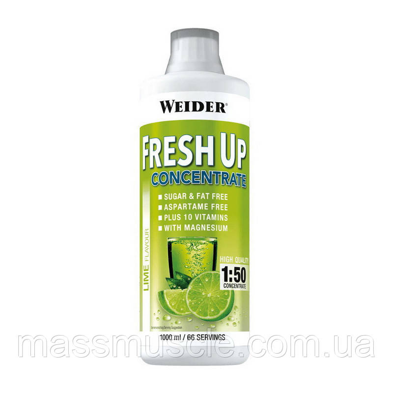 Витаминно-минеральный концентрат Weider Fresh Up Concentrate 1000 ml