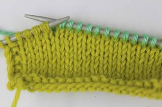 Приемы вязания. Частичное вязание спицами