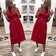Платье-халат женское стильное под пояс размер 42-46 купить оптом со склада 7км Одесса, фото 2