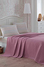 Постельное белье Eponj Home Paint Pike Yoga gulkurusu розовое евро размер