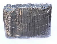 Шапочка-одуванчик черная, 100 шт