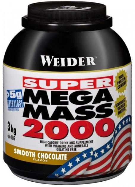 Вітамінний Weider Mega Mass 2000 3000 g
