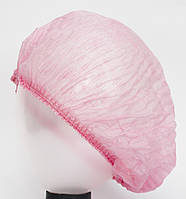 Шапочка-одуванчик розовая, 100 шт