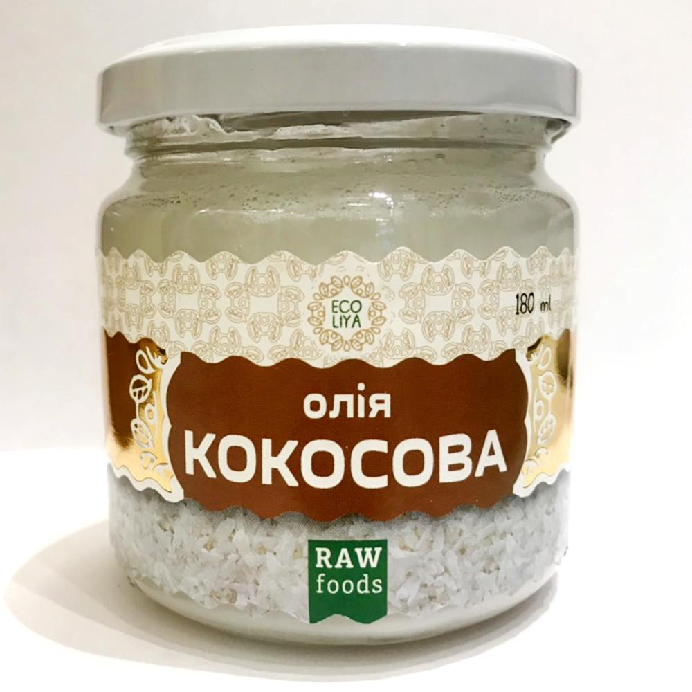 Кокосове масло, 180 мл (Эколия)