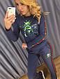 Костюм женский стильный модный GUCCI размер 42-48, купить оптом со склада 7км Одесса, фото 4