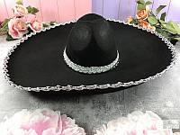 Шляпа Сомбреро с большими полями