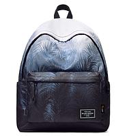 Рюкзак в синих тонах