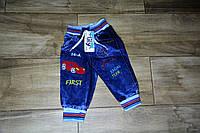 Штани джинсові міні First хлопчик Туреччина 6,9 міс роки котон (Штаны джинсовые на мальчика 6-9 месяцев)