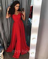 Вечерние платья (7 цветов, ткань - креп костюмка). Размер S, M, L. Код 0215