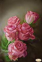"""Схемы для вышивки картин бисером на тему """"Цветы"""""""