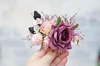 Гребень розово-сиреневый, фото 1