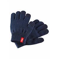 Синие перчатки Rimo унисекс размеры 7/8 осень;зима;весна девочка;мальчик TM Reima 527306-6980
