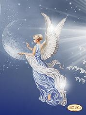 """Схемы для вышивки картин бисером на тему """"Ангелочки"""""""