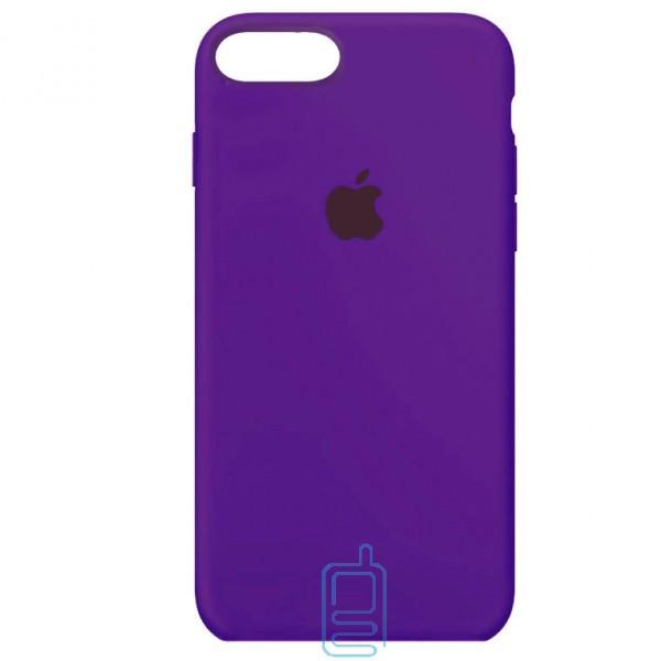Чехол Silicone Case Full iPhone 7 Plus. 8 Plus фиолетовый