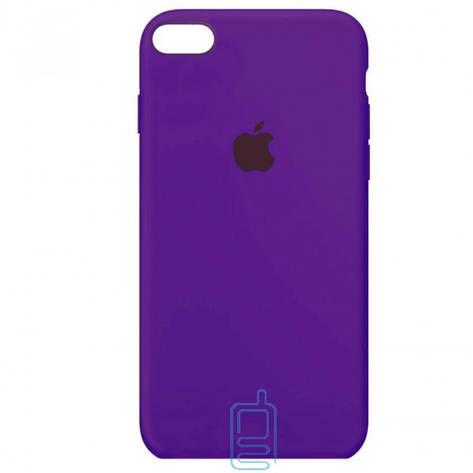 Чехол Silicone Case Full iPhone 7. 8 фиолетовый, фото 2