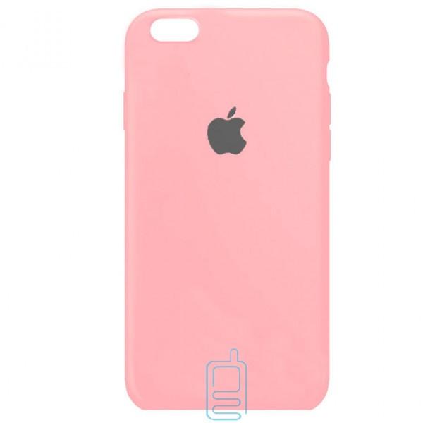 Чехол Silicone Case Full iPhone 6. 6S розовый