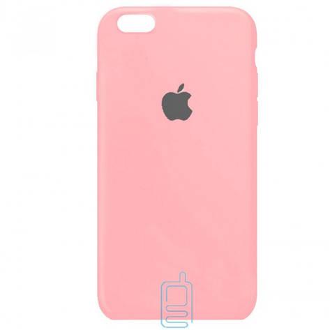 Чехол Silicone Case Full iPhone 6. 6S розовый, фото 2