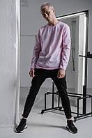 Свитшот мужской структурированный розовый