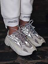 Женские и мужские кроссовки Adidas Yeezy Wave Runner Boost 700 V2 Static, фото 2