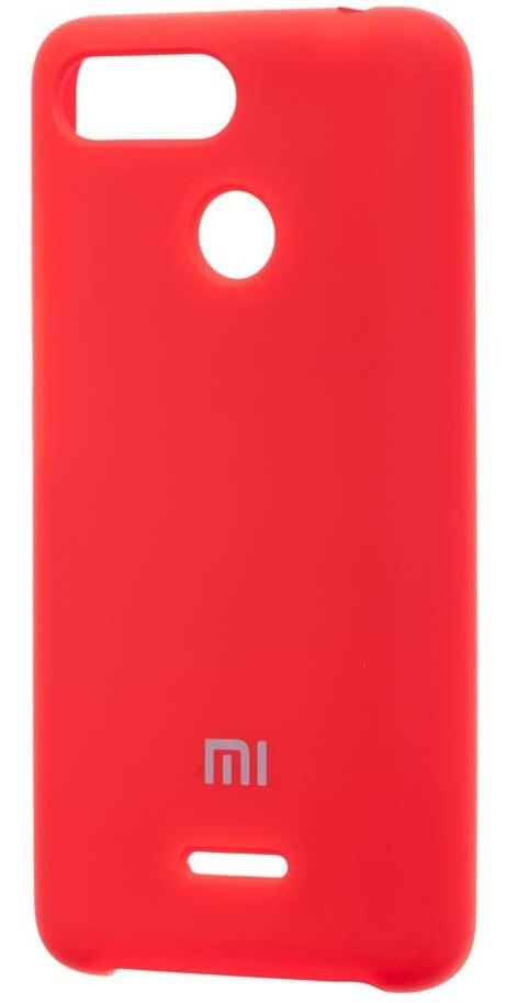 Чехол бампер Original Case/ оригинал для Xiaomi redmi 6(красный)