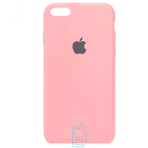 Чехол Silicone Case Full iPhone 7. 8 розовый
