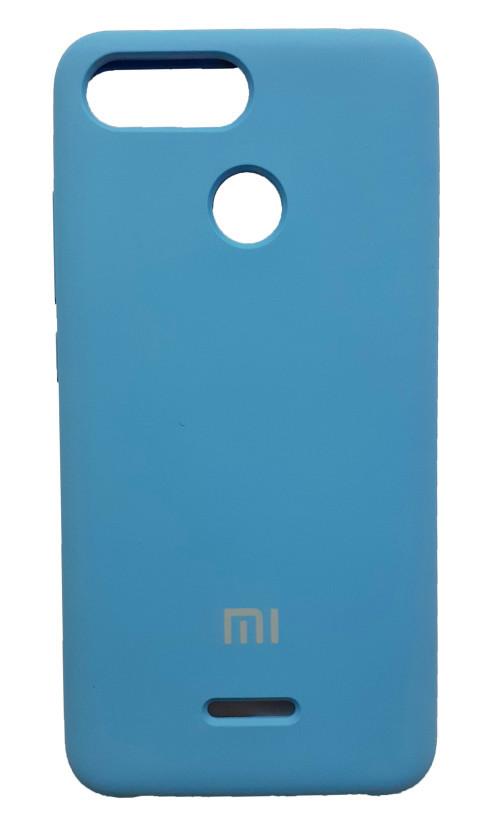 Чехол бампер Original Case/ оригинал для Xiaomi redmi 6(синий)