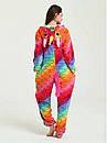 Кигуруми разноцветный единорог чешуя пижама krd0063, фото 4