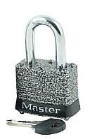 Навесной замок Master Lock 380D  стальная скоба для защиты от ржавчины