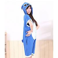 Детский летний кигуруми стич пижама krd0090
