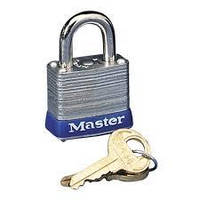 Навесной ламинированный замок Master Lock механизм двойного блокировочного рычага