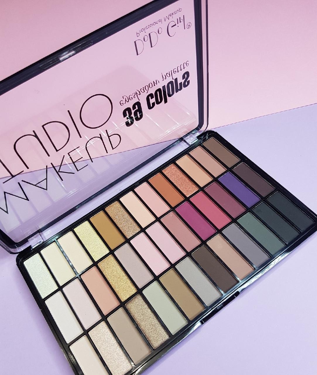 Палетка теней для век DoDo Girl 39 Colors Eyeshadow Palette Makeup Studio B