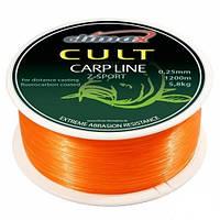 Леска Climax CULT CARP LINE Z-SPORT orange 0,30mm 8.3kg 1000m