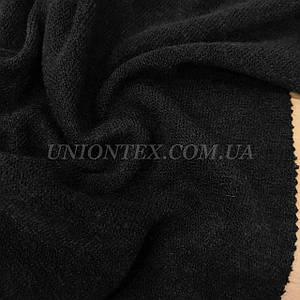 Трикотаж ангора арктика черная